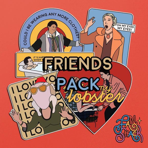 FSH FRIENDS Sticker Pack - The Craft Central