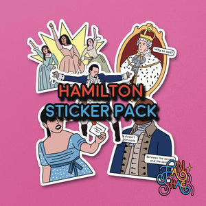 FSH HAMILTON Sticker Pack