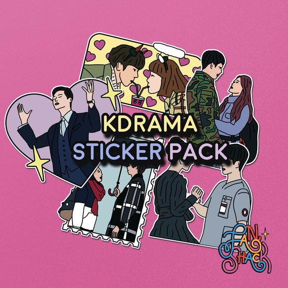 FSH KDRAMA Sticker Pack - The Craft Central