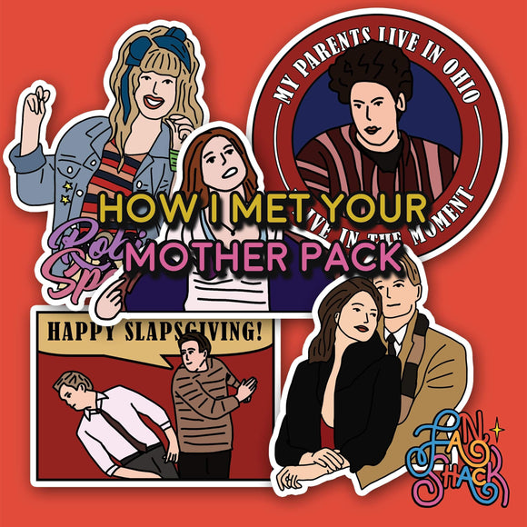 FSH HOW I MET YOUR MOTHER Sticker Pack - The Craft Central