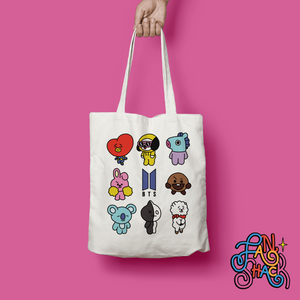 FSH BT21 Tote - The Craft Central
