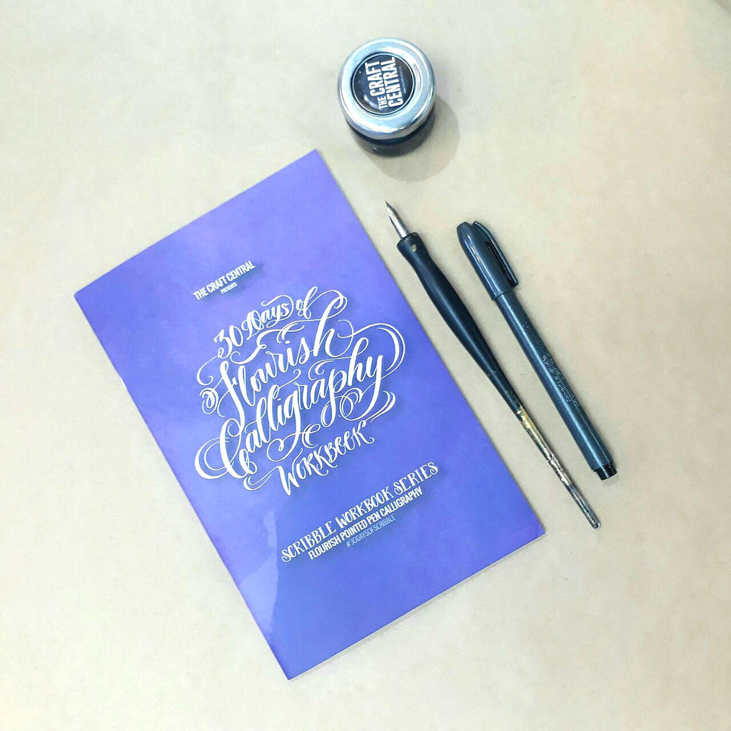 Flourish Calligraphy Workbook