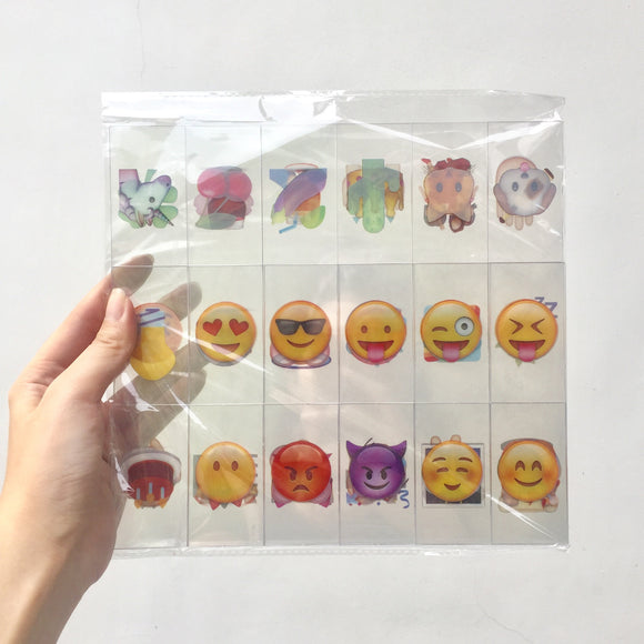 Emojis for A4 Lightbox