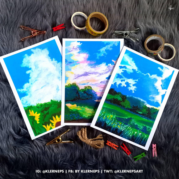 Ghibli-inspired Art Prints by Klerneps