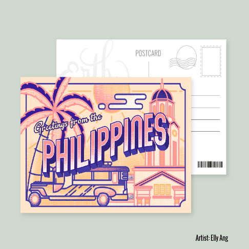 Greetings from the Philippines - Elly Ang