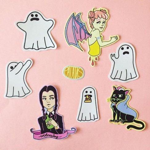Halloween Stickerpack by Patatas