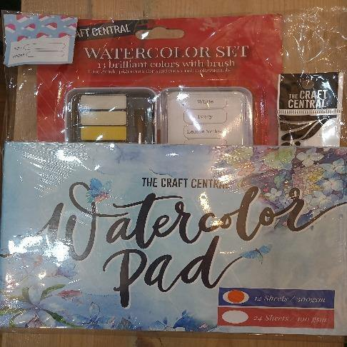 TCC DELUXE WATERCOLOR SET