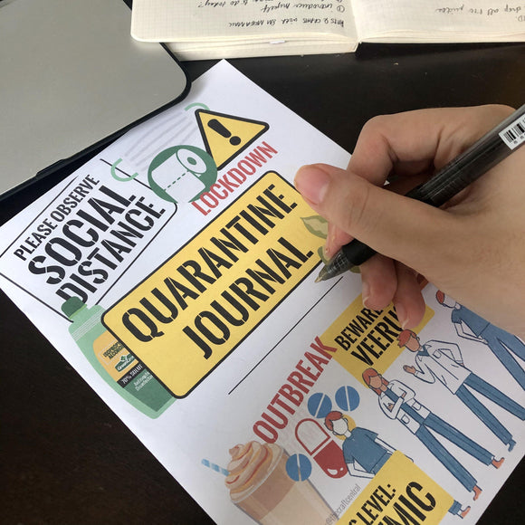 Covid-19 Printable Quarantine Journal - The Craft Central
