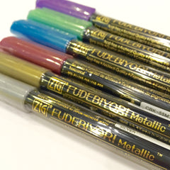 Zig Fudebiyori Brush - Metallic