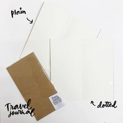 Plain and Dotted Journal Fillers