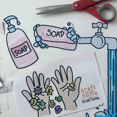 Wash Your Hands Covid-19 Kids Printable