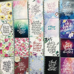 Ink Scribbler Spiral Notebooks