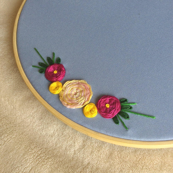 Online Workshop: Basic Hand Embroidery