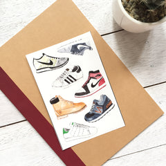 Shoes Sticker Set