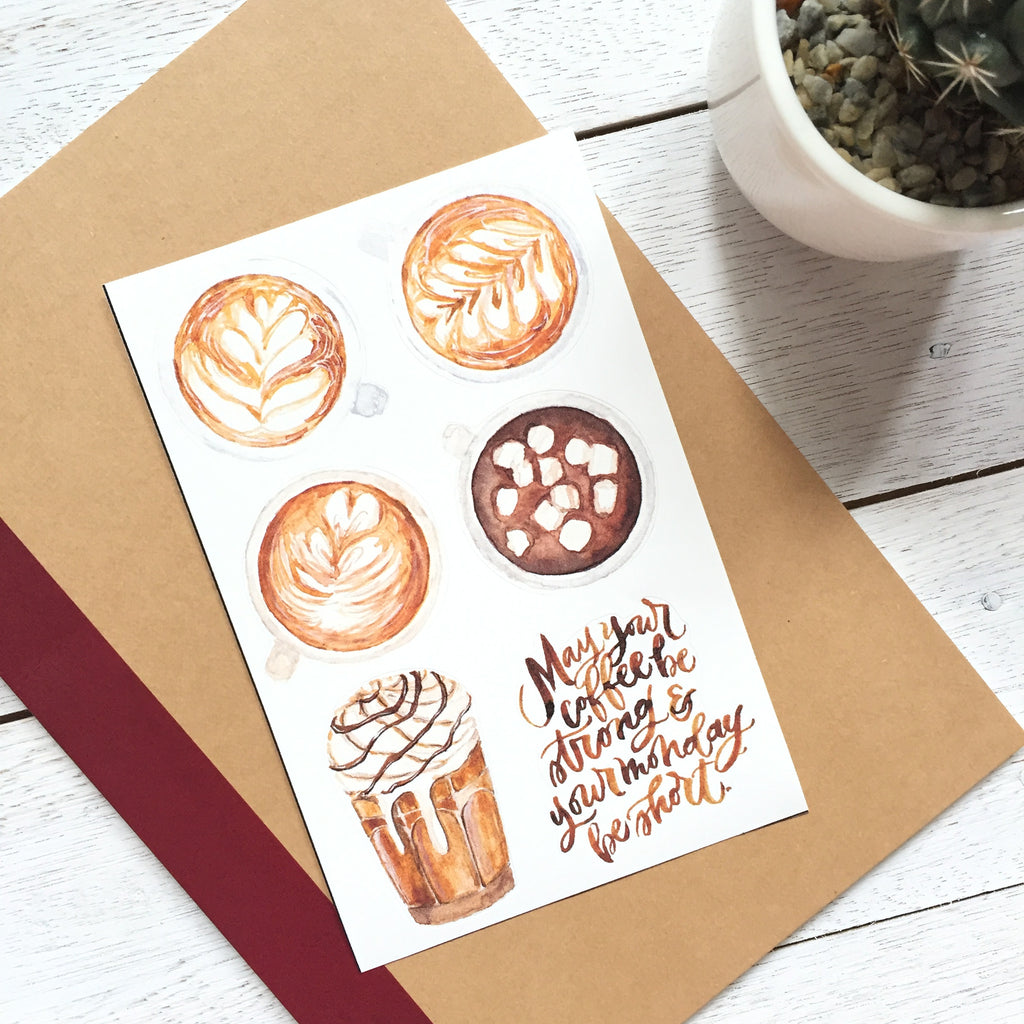 Coffee Sticker Set