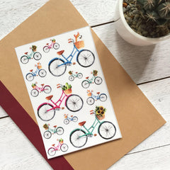 Bicycle Sticker Set