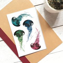 Jellyfish Sticker Set