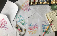 Lettering Layouts 4in1 Bundle