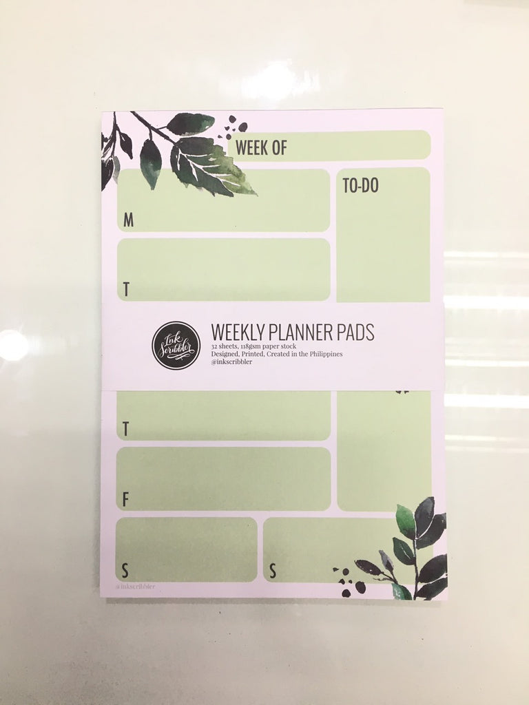 Ink Scribbler Weekly Planners