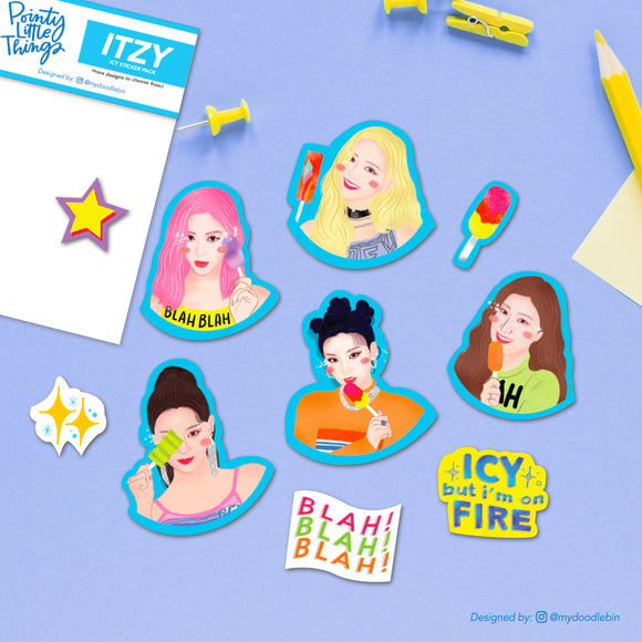 ITZY ICY Sticker Pack