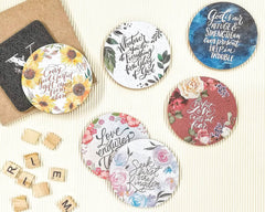 Ink Scribbler Cork Coasters