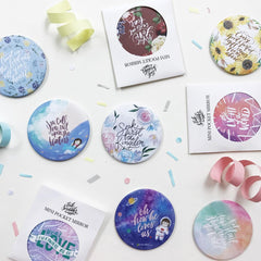 Ink Scribbler Pocket Mirrors