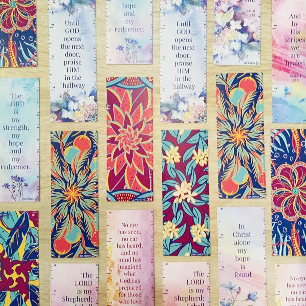 Ink Scribbler Ruler Bookmarks