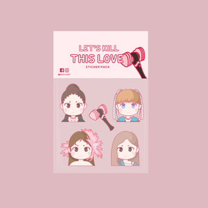 Kill This Love Sticker Pack by EkoiiArt