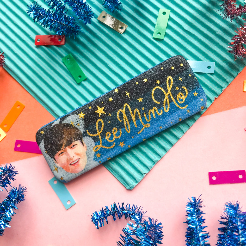 Lee Min Ho Rectangle Button Pin