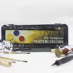 Finetec 1 Watercolor Set 12s Transparent 30mm
