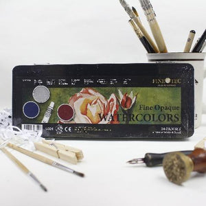 Finetec 1 Watercolor Set 24s Opaque 30mm