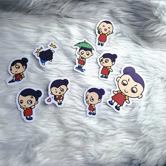 Mamamu Sticker Collection