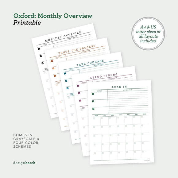 DHA Oxford: Monthly Overview - The Craft Central