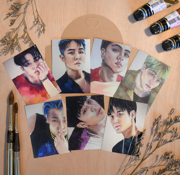 Post Card Set of IKON