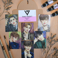 Sticker set of Seventeen Pt. 1 by Pencils N Pixels PH