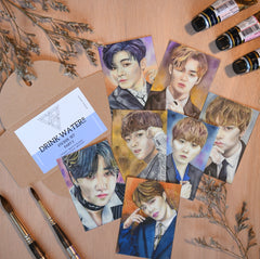 Sticker set of Seventeen Pt. 2 by Pencils N Pixels PH