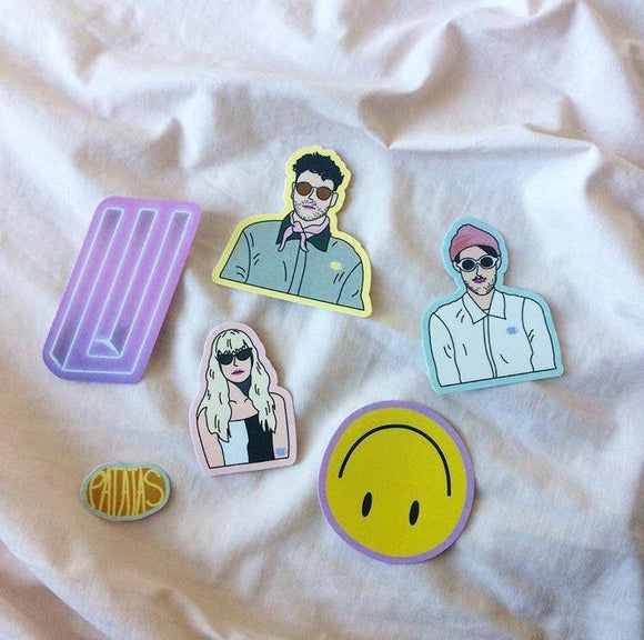 Paramore Sticker Pack by Patatas
