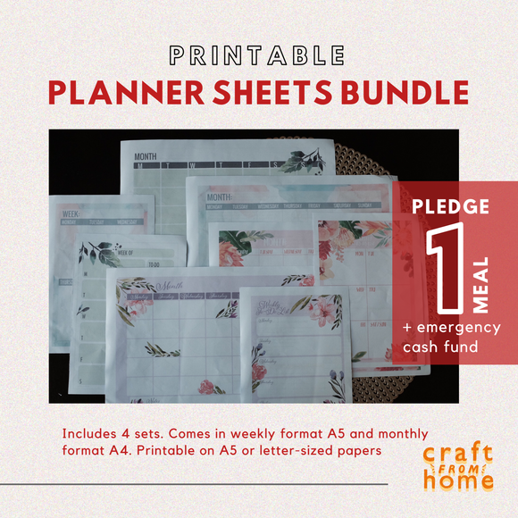 Printable Planner - 4in1 Bundle