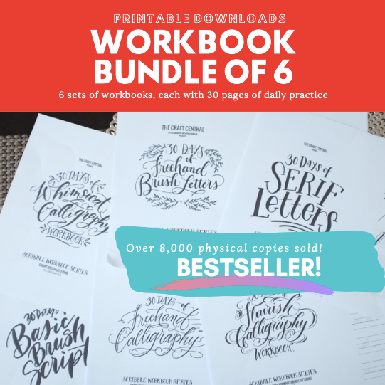 Printable 6in1 Workbook Bundle