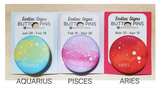 Zodiac Sign Button Pins