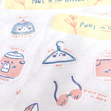 Puns Sticker Sheets