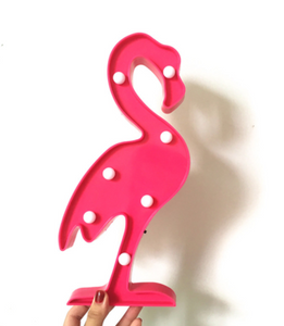 Flamingo Marquee 3D Light by Gubby Keeps
