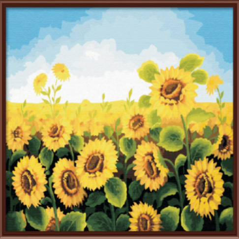Paint By Numbers Sunflower G059