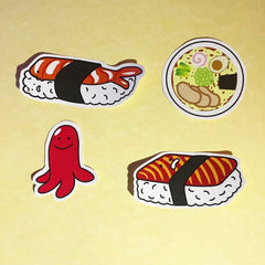 Sushi Sticker Pack by Patatas