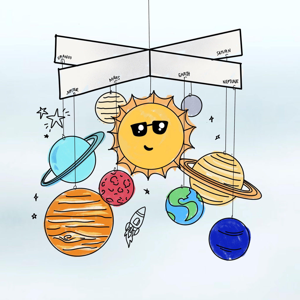 Solar System Mobile Printable
