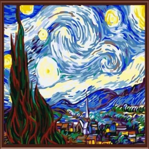 Paint By Numbers Starry Night G192