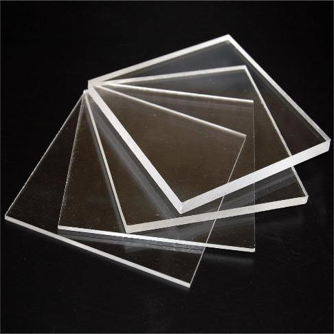Acrylic Squares set of 2 (2pcs -1.5/2inches)