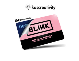 Blink Card Skin Sticker