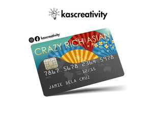 Crazy Rich Asians - Bank Card Sticker