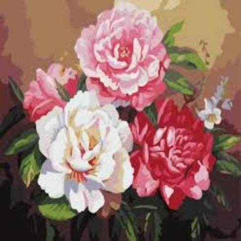 Paint By Numbers Flowers G382
